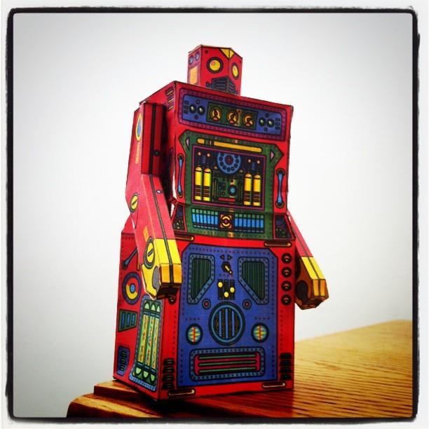 Paper Craft Robot