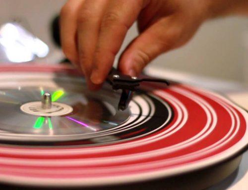 Woa! un CD que se puede leer en una tornamesa!