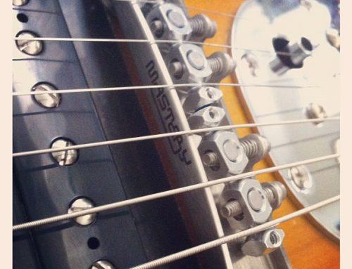 Por fin! Mastery Bridge en mi Jazzmaster #likeasir 🎩