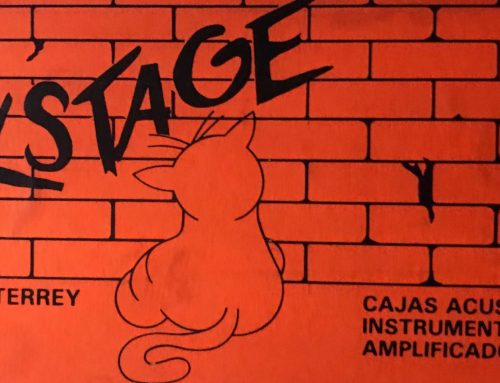 Backstage calcomanía de los 90s